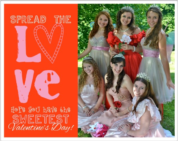 Princesses Valentines Day