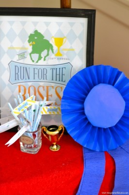 drink flags kentucky derby party