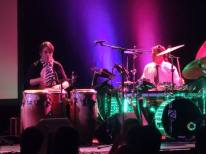 Ali Khan on Kandler Custom Drums 2014 7