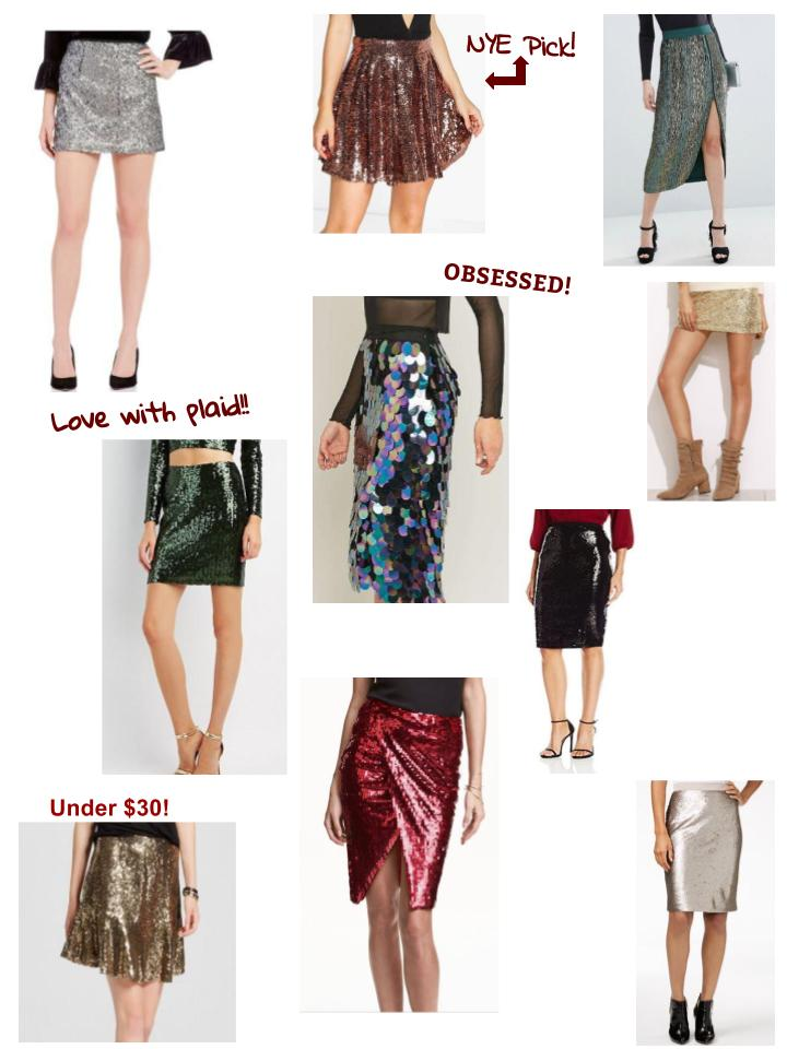 sequin-skirts