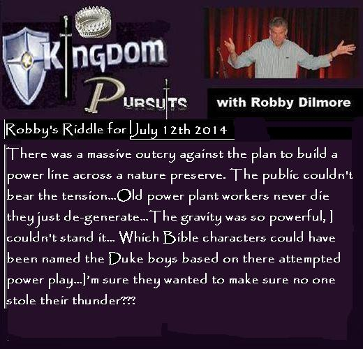 July 12 riddle