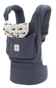 Ergo Baby Carrier with Whale Print