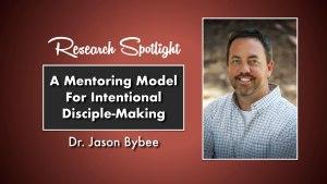 Dr. Jason Bybee Research Spotlight