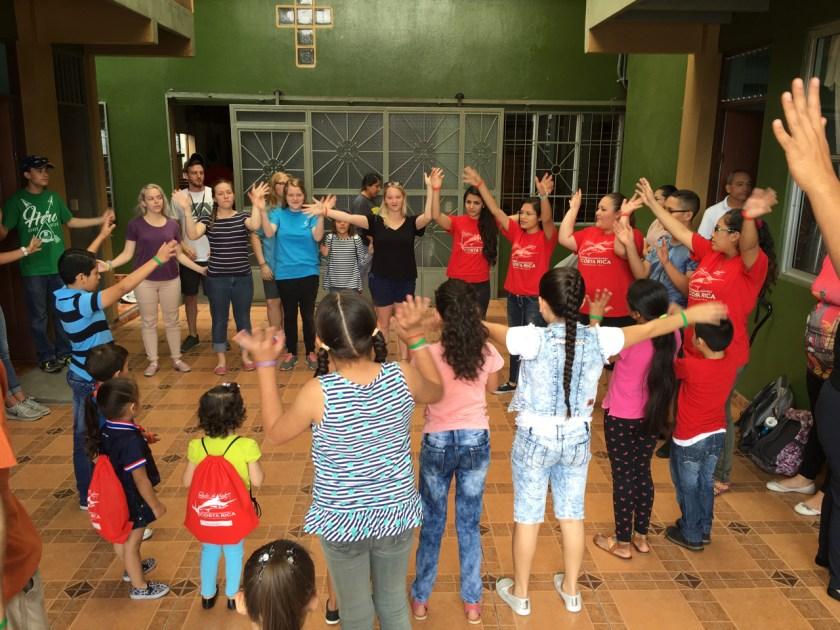 Costa Rica Spanish Christian Children's Songs VBS