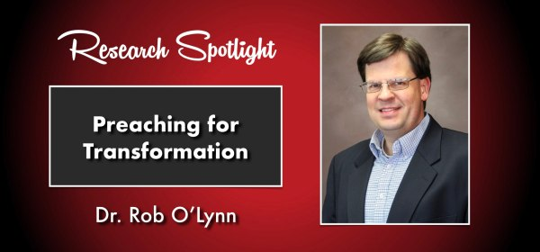 Cover image showing Dr. Rob O'Lynn as part of the Research Spotlight series