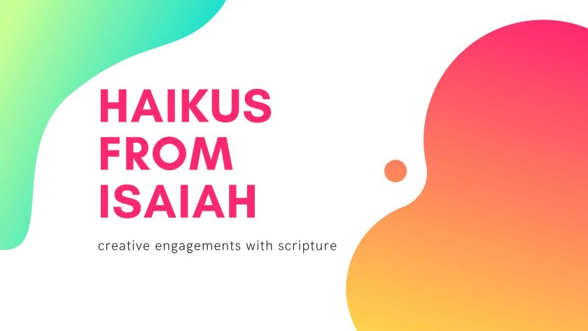 Haikus from Isaiah Title Image