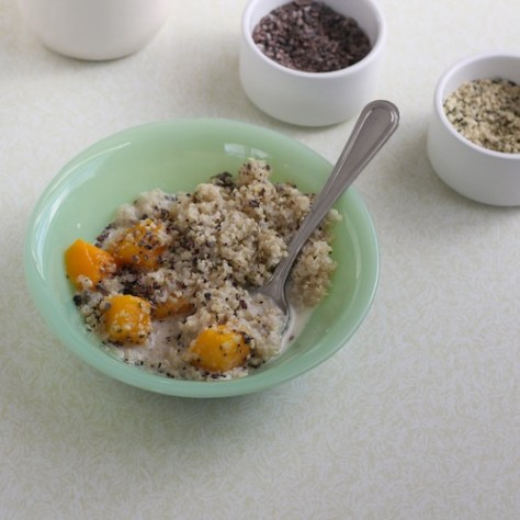 SSprouted Breakfast Quinoa