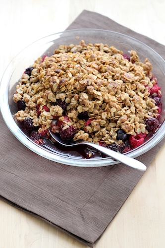 Berry Oatmeal Crisp