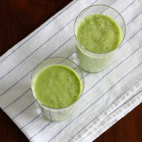 Coconut Milk Green Smoothies
