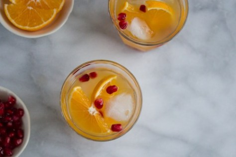 Clementine Whiskey Drink