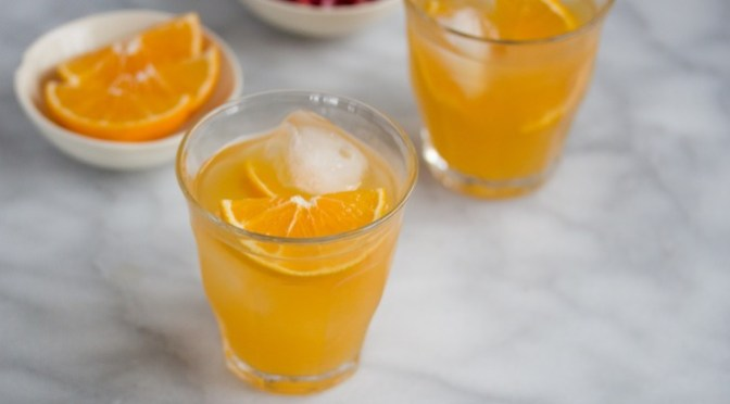 Clementine Bourbon Cocktail Recipe