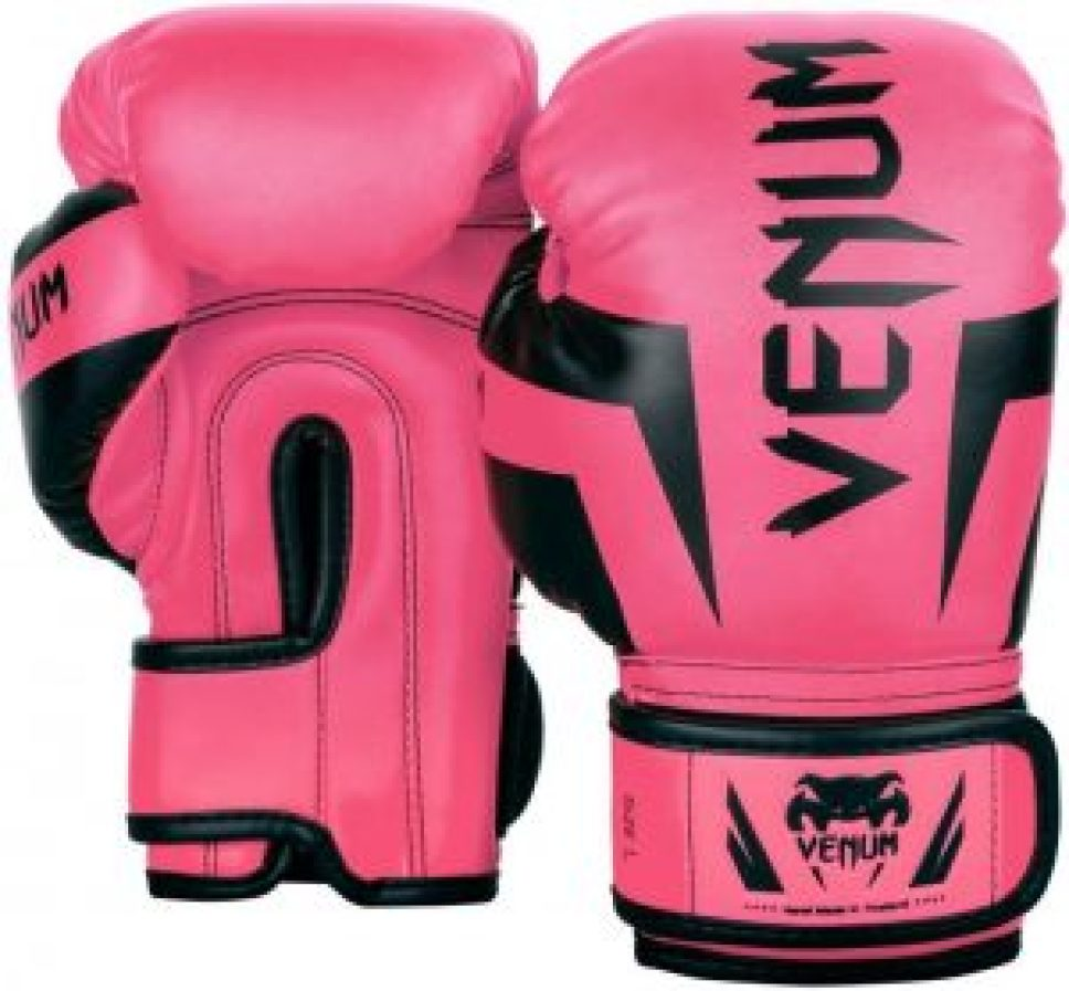 youth pink boxing gloves