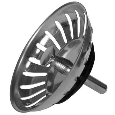Stainless Steel Round Replacement Sink Waste Strainer