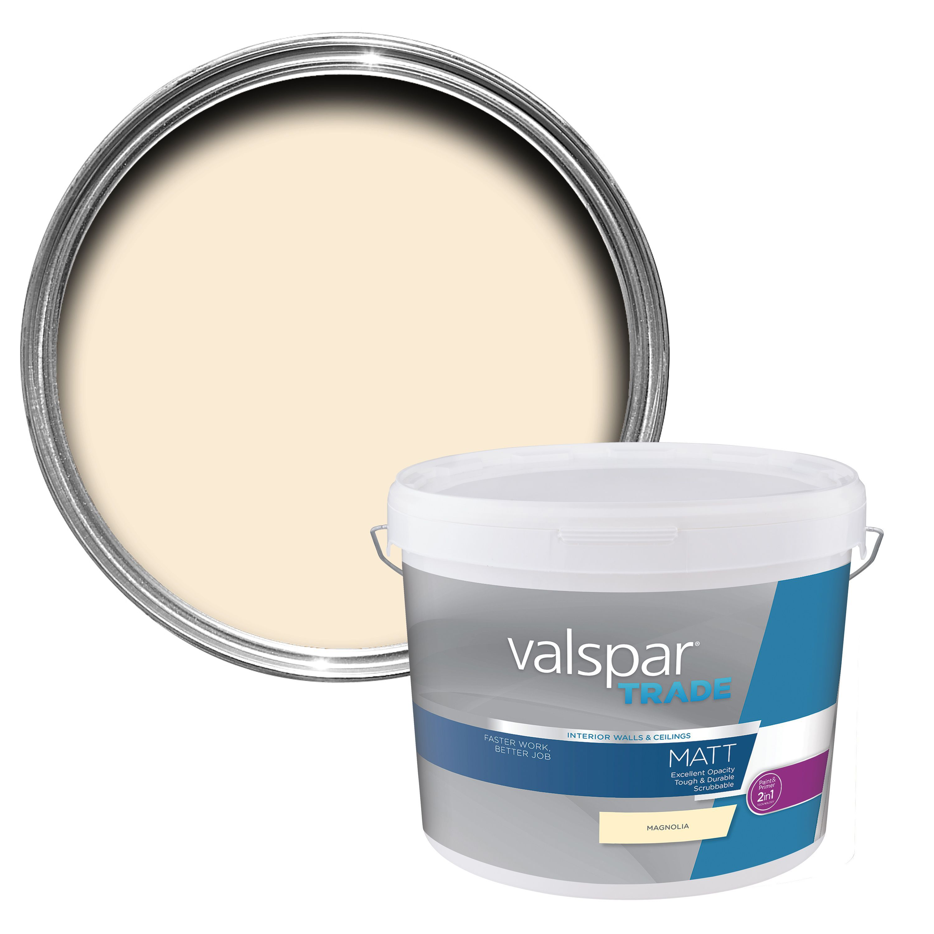 valspar trade magnolia matt wall ceiling paint 10l on valspar paint id=29807
