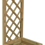Grow Your Own Pale Green Wooden Bell Rectangular Planter 40cm Departments Diy At B Q