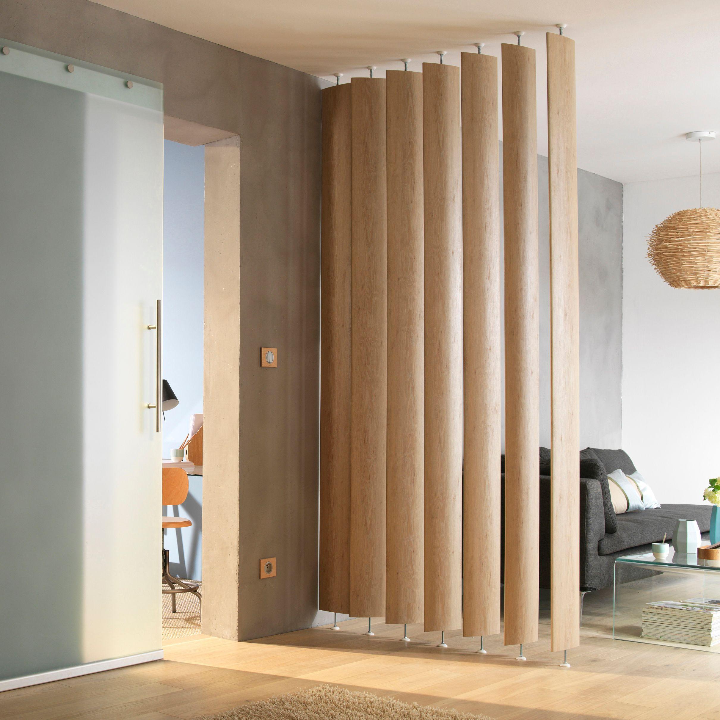 Ella White Oak Room Divider Pack Of 5 Departments DIY