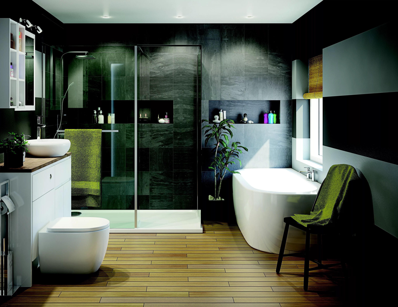 Luxury bathroom ideas | Ideas & Advice | DIY at B&Q on Small:e_D8Ihxdoce= Restroom Ideas  id=60645