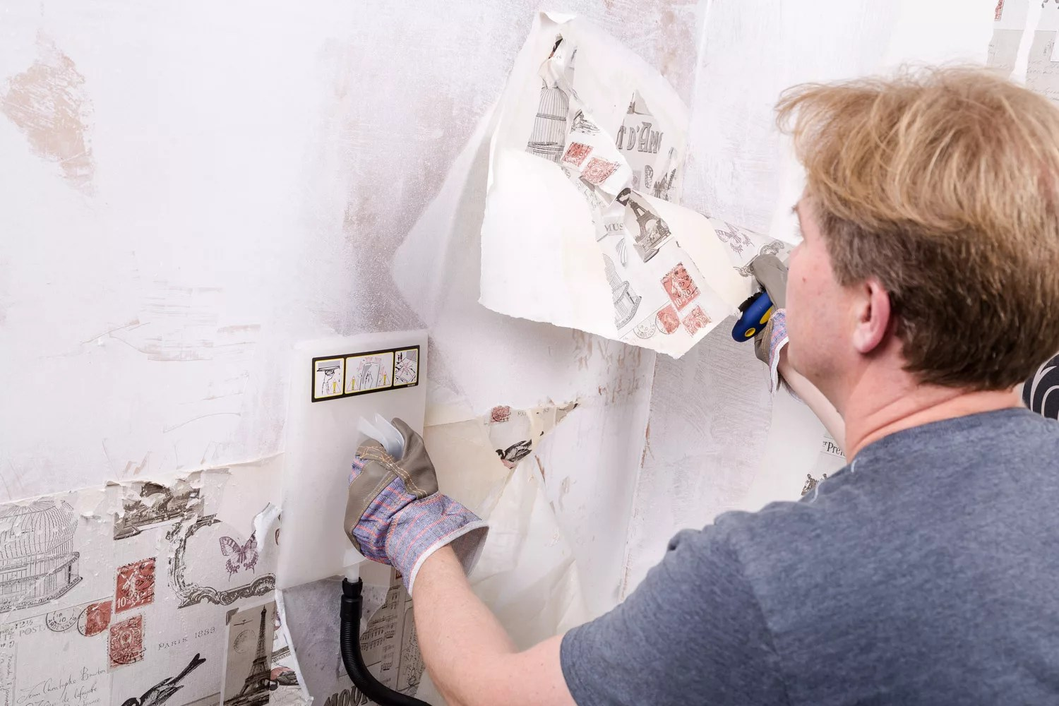 How To Remove Wallpaper Ideas Amp Advice DIY At BampQ