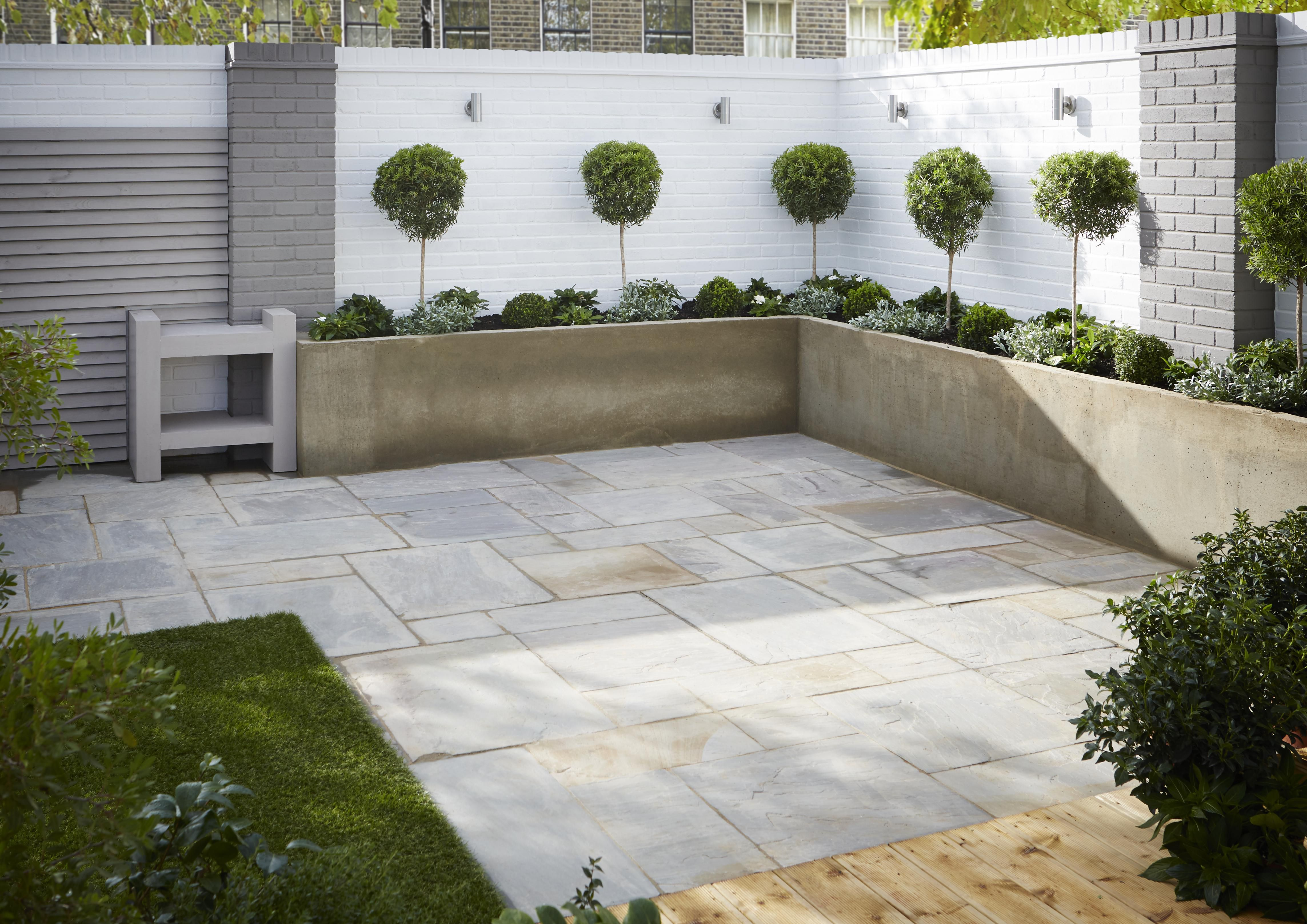 Modern garden ideas | Ideas & Advice | DIY at B&Q on Modern Backyard Patio Ideas  id=52529