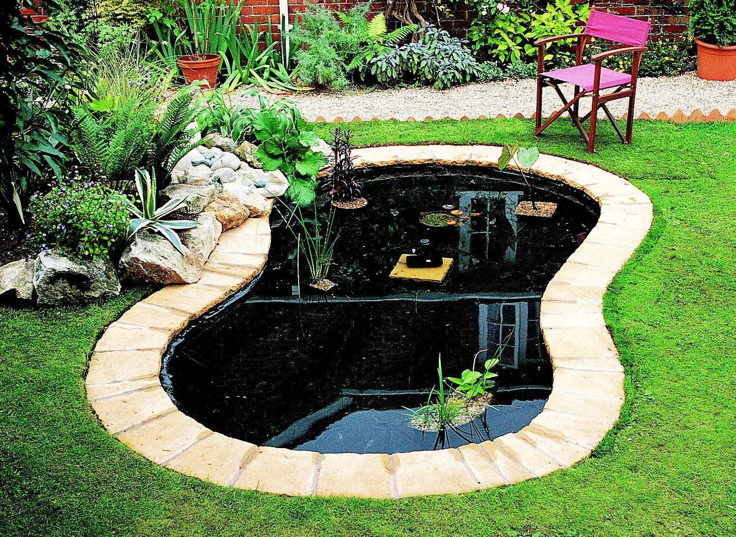How To Create A Pond Ideas Amp Advice DIY At BampQ