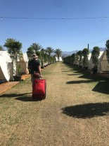 There are safari tents as well as teepees in this area. The safari tents sleep 4 people. Teepees sleep 2.