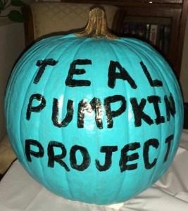 Teal Pumpkin Project Painted San Clemente
