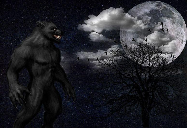 werewolf at moon halloween fun facts