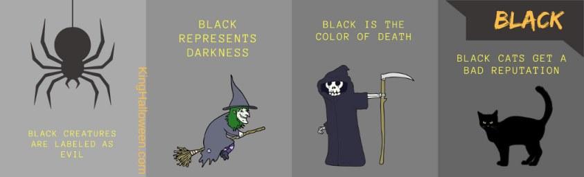 Black and Orange Graphic