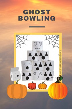 Ghost Bowling Halloween Game
