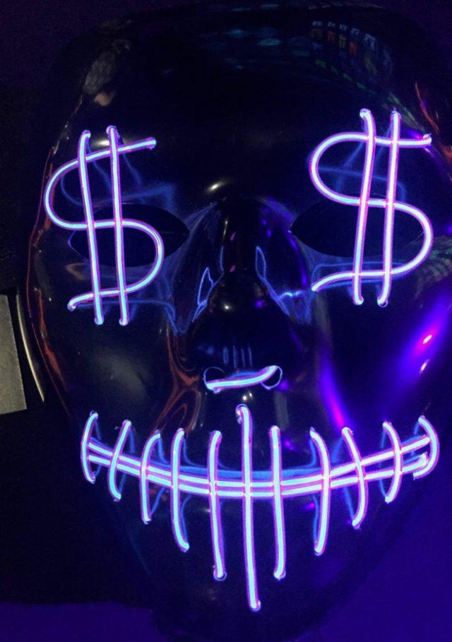 Halloween Light up Mask