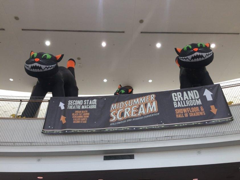 Midsummer Scream Entrance Black Cats