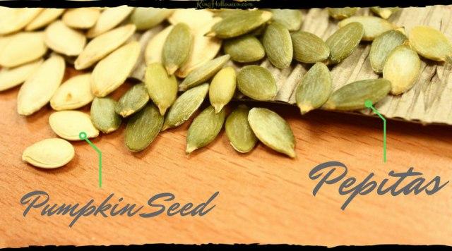 Pumpkin seeds vs. Pepitas