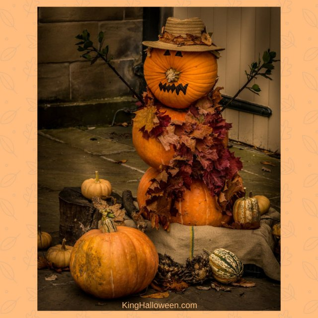 Stacked Pumpkins Graphic