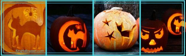 cat pumpkin carving illustration