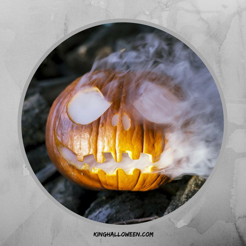 cool pumpkin ideas dry ice