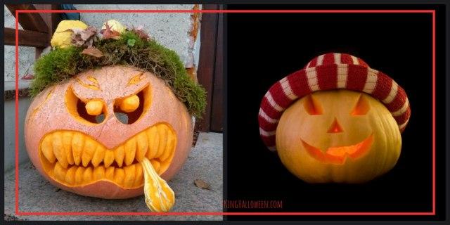 creative pumpkin ideas Hat and Cigar