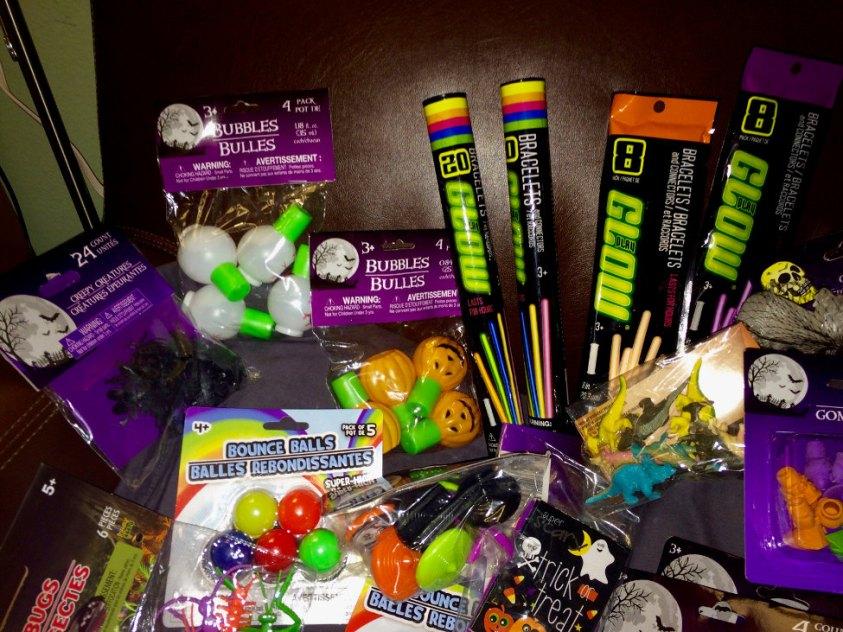 non food Halloween treats bubbles glow