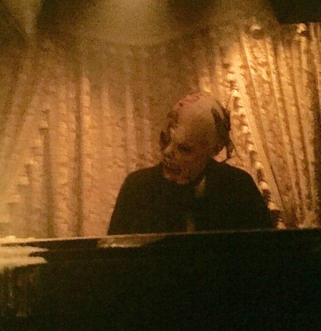 The Phantom at Piano Universal Monsters