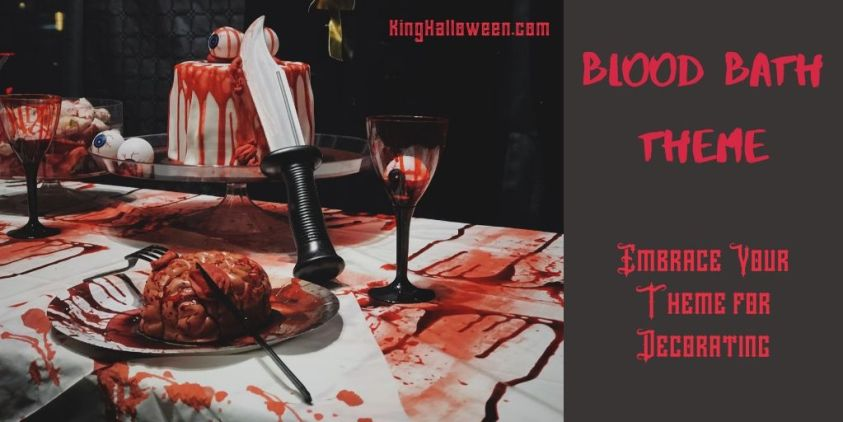Blood Bath Halloween Party