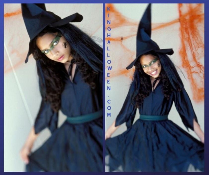 Cute Halloween Makeup two pics