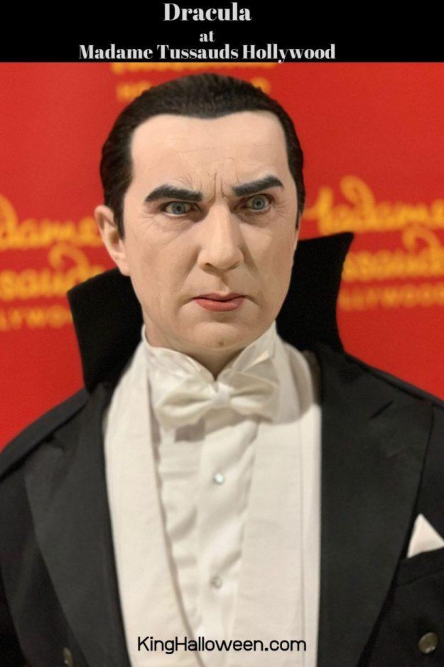 Dracula Madame Tussauds Hollywood Wax Figure