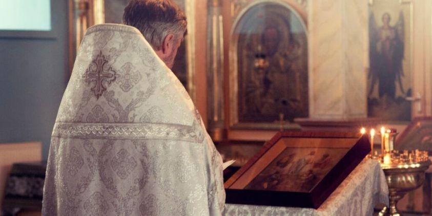 Priest in Church Riddle