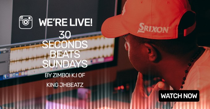 Here's how to make Afrobeats in 30 Seconds