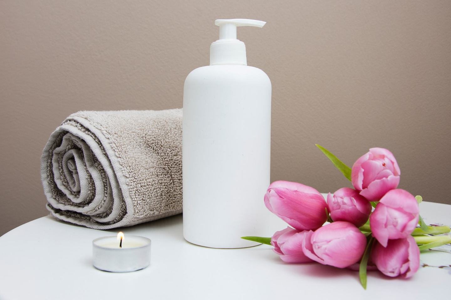 Items at a Spa for massages