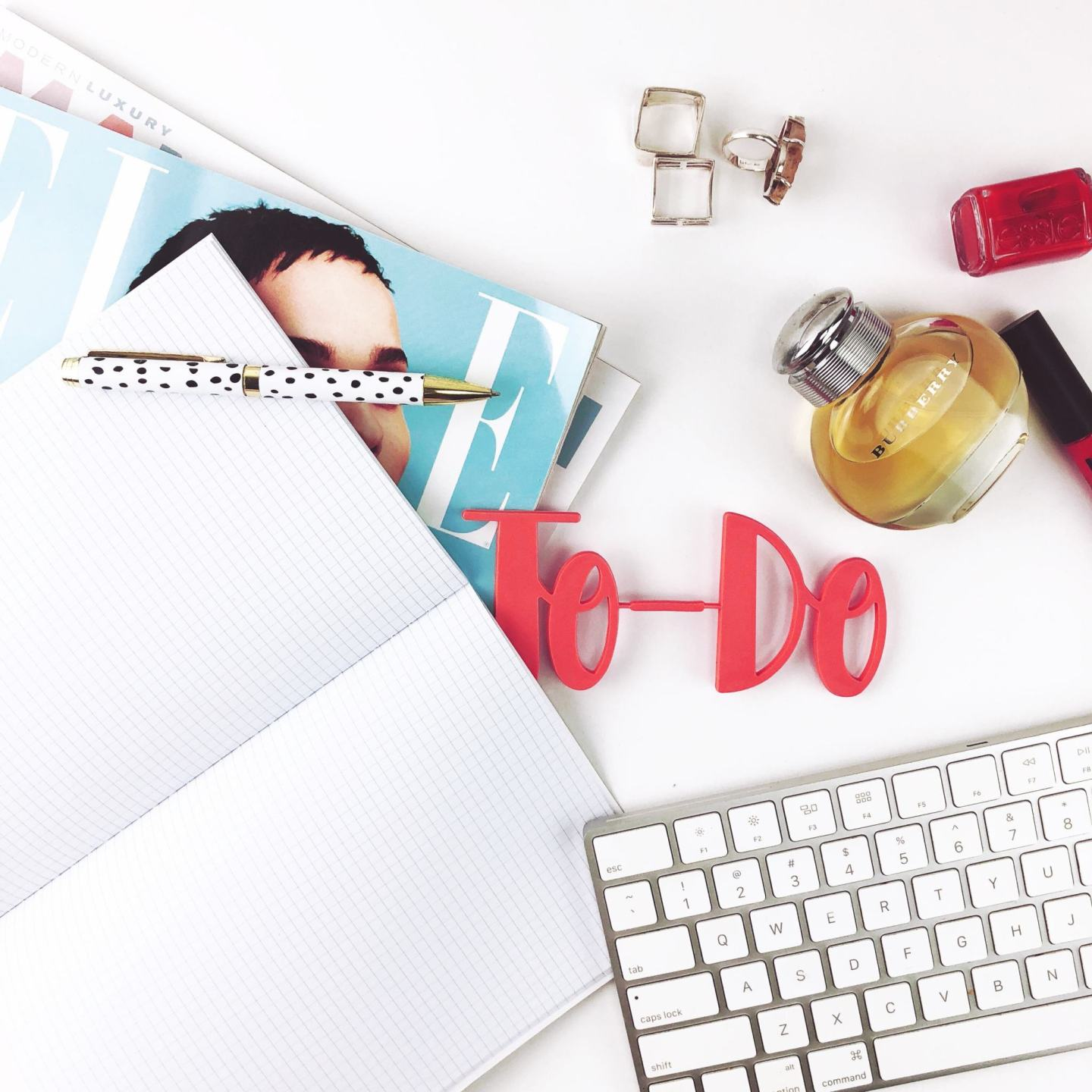 Picture Showing a To Do List On A Work Desk