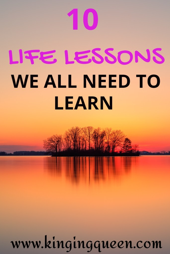 Life Lessons Learned