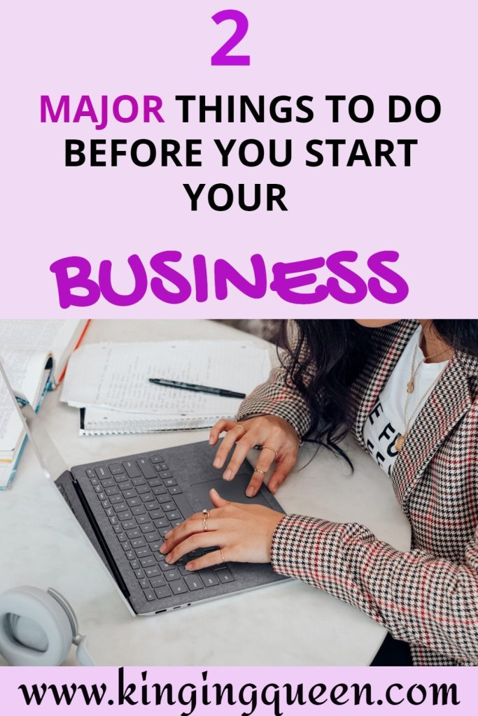 to start your own business