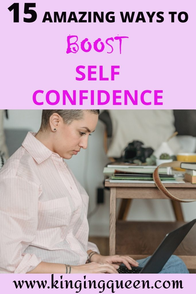 self confidence boosters