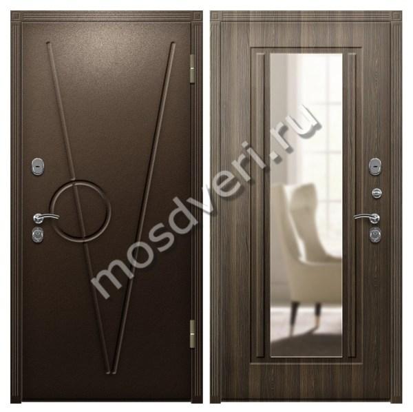 Входная дверь в квартиру металлическая порошковое ...