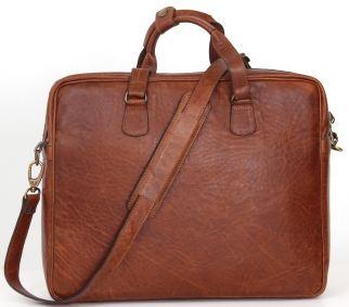 Crossbody Laptop Bag (LLP001) - Pecan
